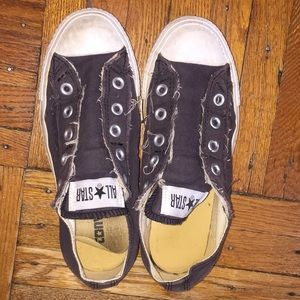 Converse slip on sneakers - used